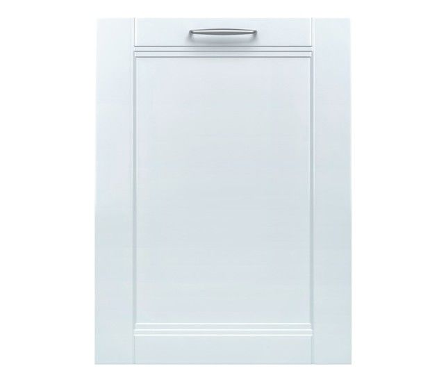 "Bosch - 800 Series 24"" Tall Tub Built-In Dishwasher with Stainless-Steel Tub - Custom Panel Ready - Larger Front"
