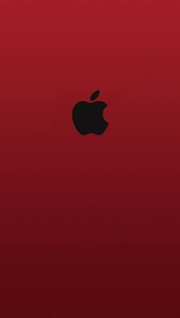 Download Apple Red Black Logo Wallpaper By Shuvra005 Af Free