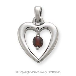 Garnet is not my birthstone, but I do adore the color Red!