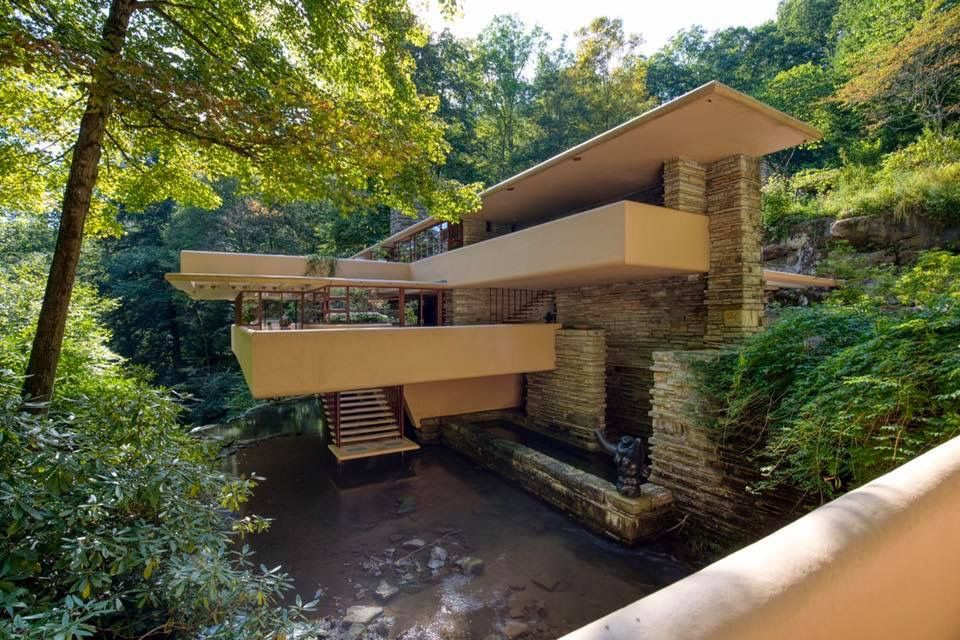 Fallingwater Bear Run Pa Amazing Architecture Beautiful