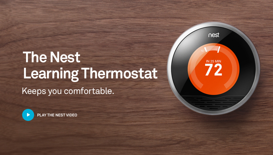 Nest Thermostat Programs Itself Saves Thermostat Nest