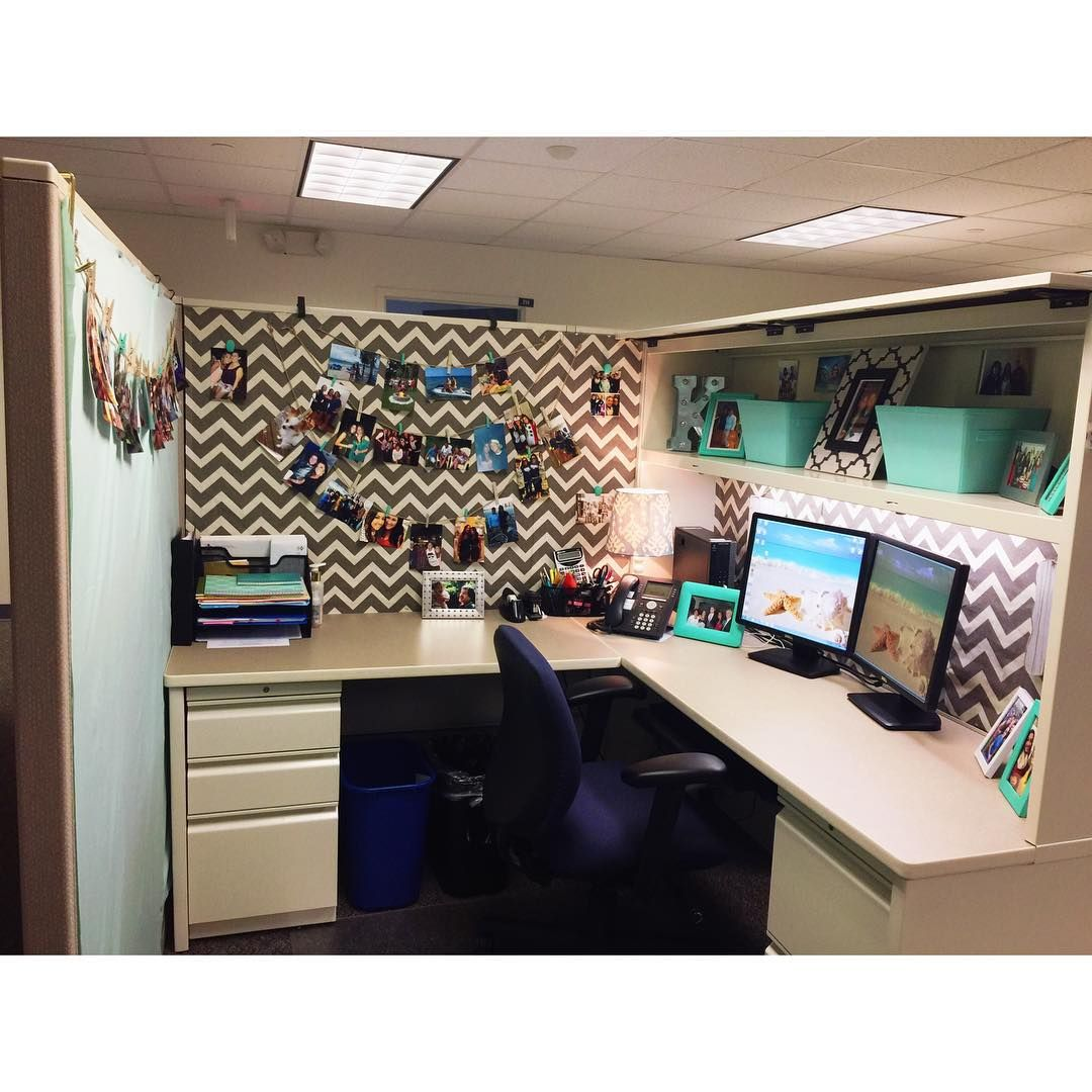 Cubicle sweet cubicle cubicledecor pintrestinspired - Work office decorating ideas pictures ...