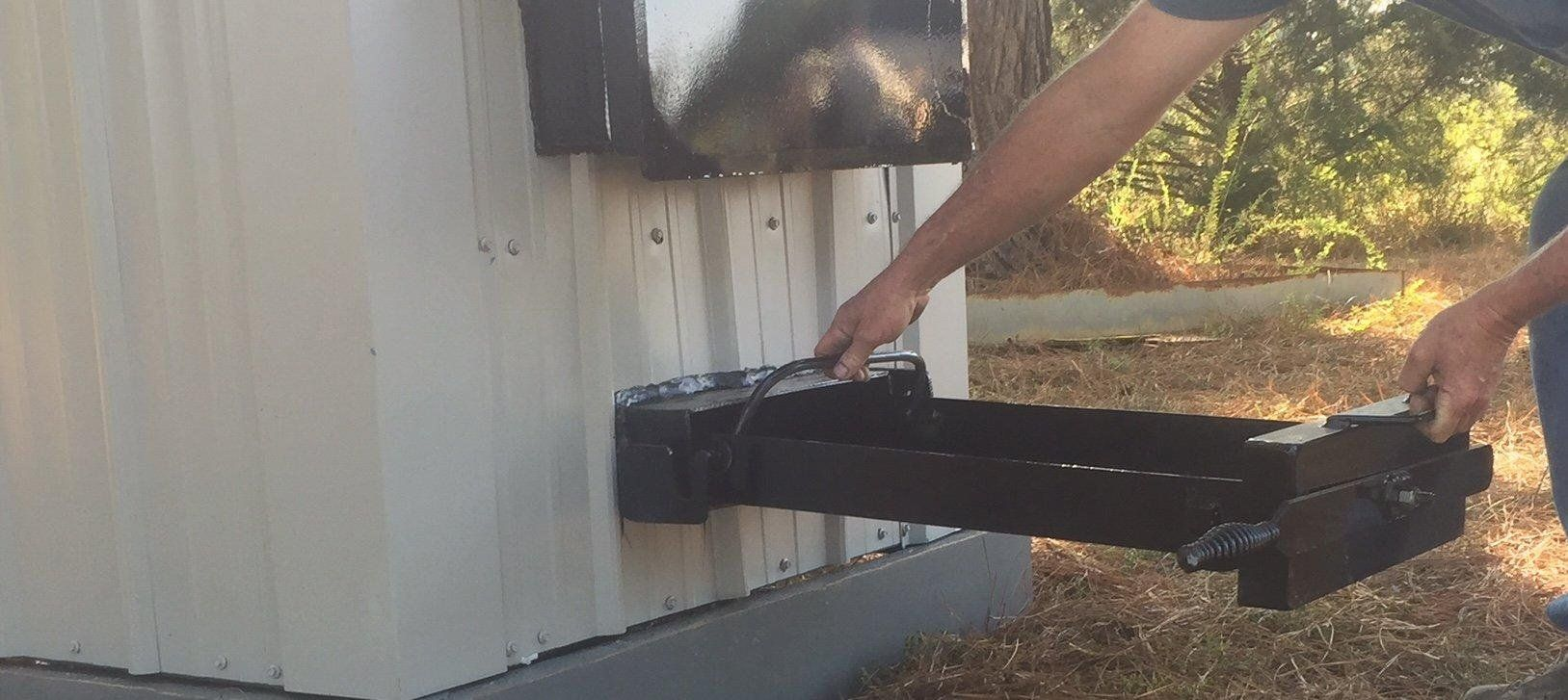 Outside Wood Boiler Ash Tray Wood Burning Furnace Outdoor Wood