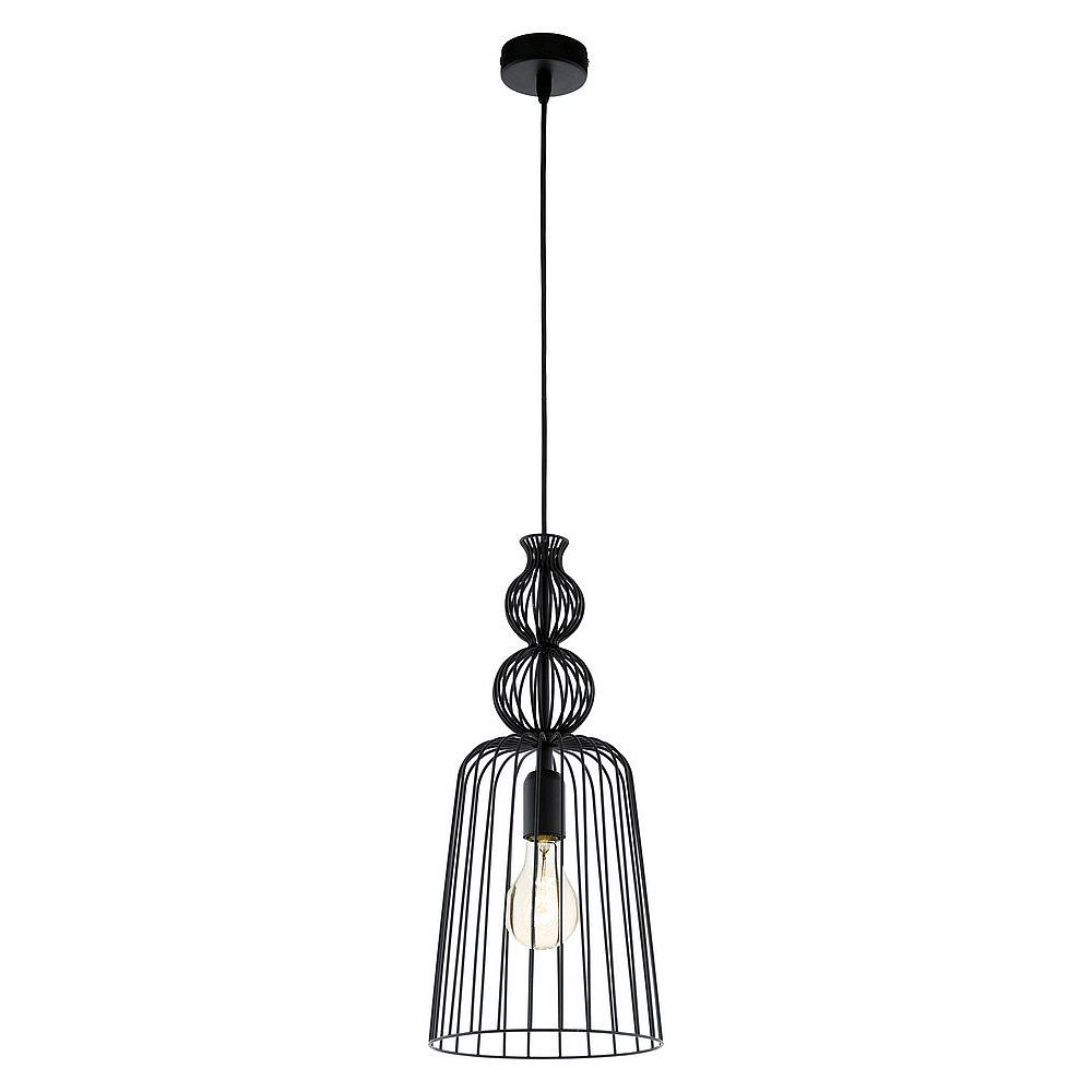 Eglo Carterham Hanglamp Ø 23 cm - Zwart | Let there be light ...