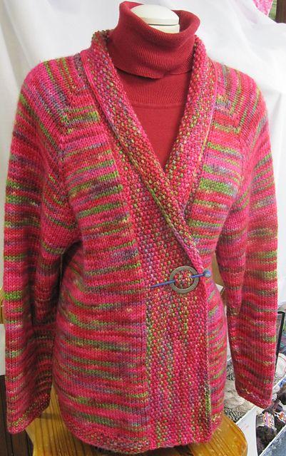 hazelwool's Top-down shawl-collar cardigan | Sweater ...