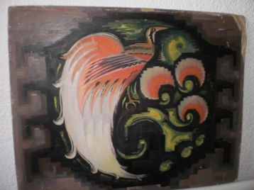 Bijzonder amsterdamse school schilderij chris bartels art