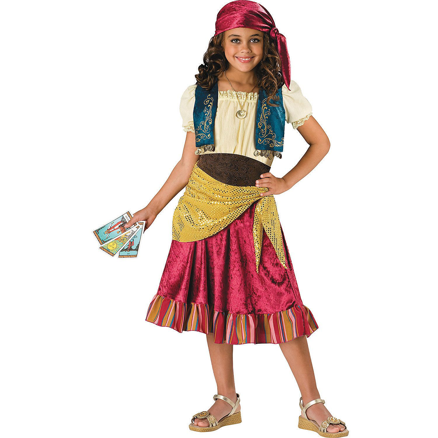 Gypsy Girl\'s Costume - OrientalTrading.com | Babes in Toyland ...