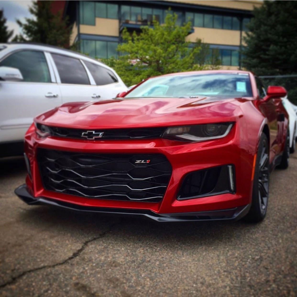 Chevrolet Camaro Zl1 Painted In Garnet Red Photo Taken By