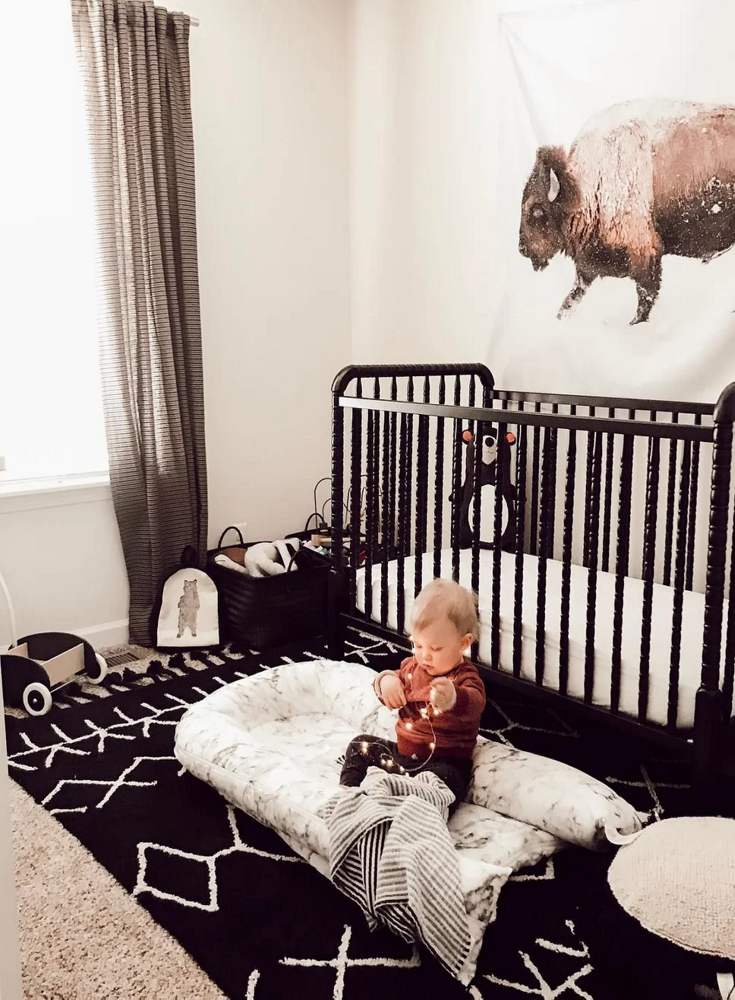 Rustic Nursery Decor Affiliate Baby Rooms Ideas With Trends Black And White Furniture Western