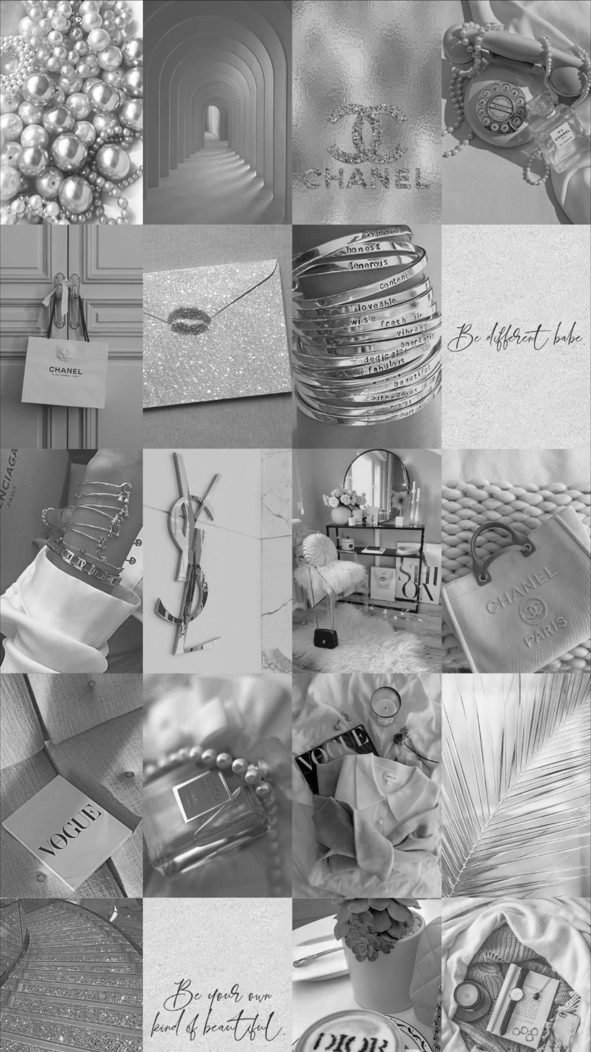 Spice up your room with this grey aesthetic wall collage kit!