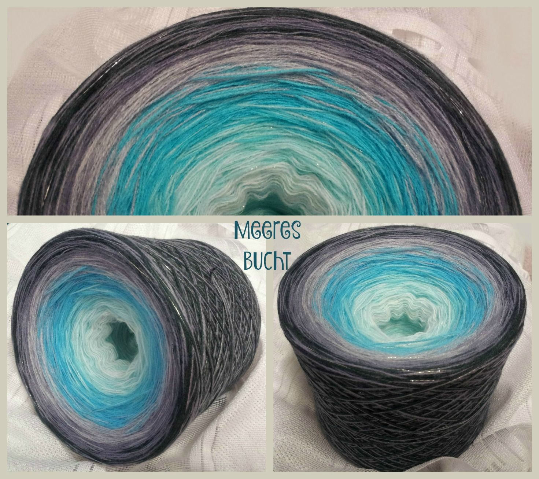 Meeresbucht: Hochbauschacryl 6 Farben: weiss eisblau aqua aluminium stahlgrau graphit
