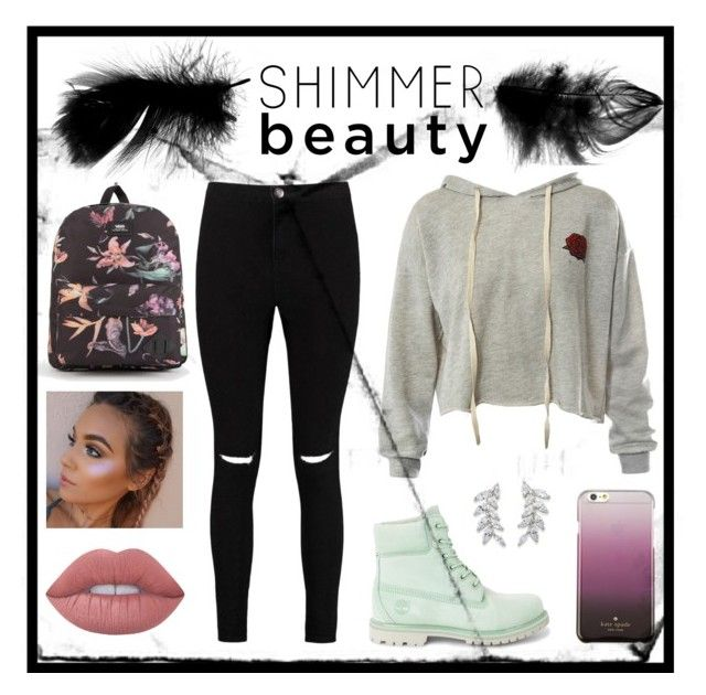 """Shimmer Beauty"" by kika-orange on Polyvore featuring moda, Boohoo, Sans Souci, Vans, Carolee y Kate Spade"