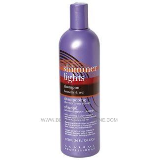 Clairol Shimmer Lights Shampoo Brunette And Red 16 Oz Beauty Stop Online Shimmer Lights Shampoo Shimmer Lights Red Shampoo