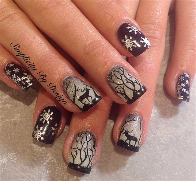 Day 346: Everything Christmas Nail Art | Nails magazine, Art nails ...
