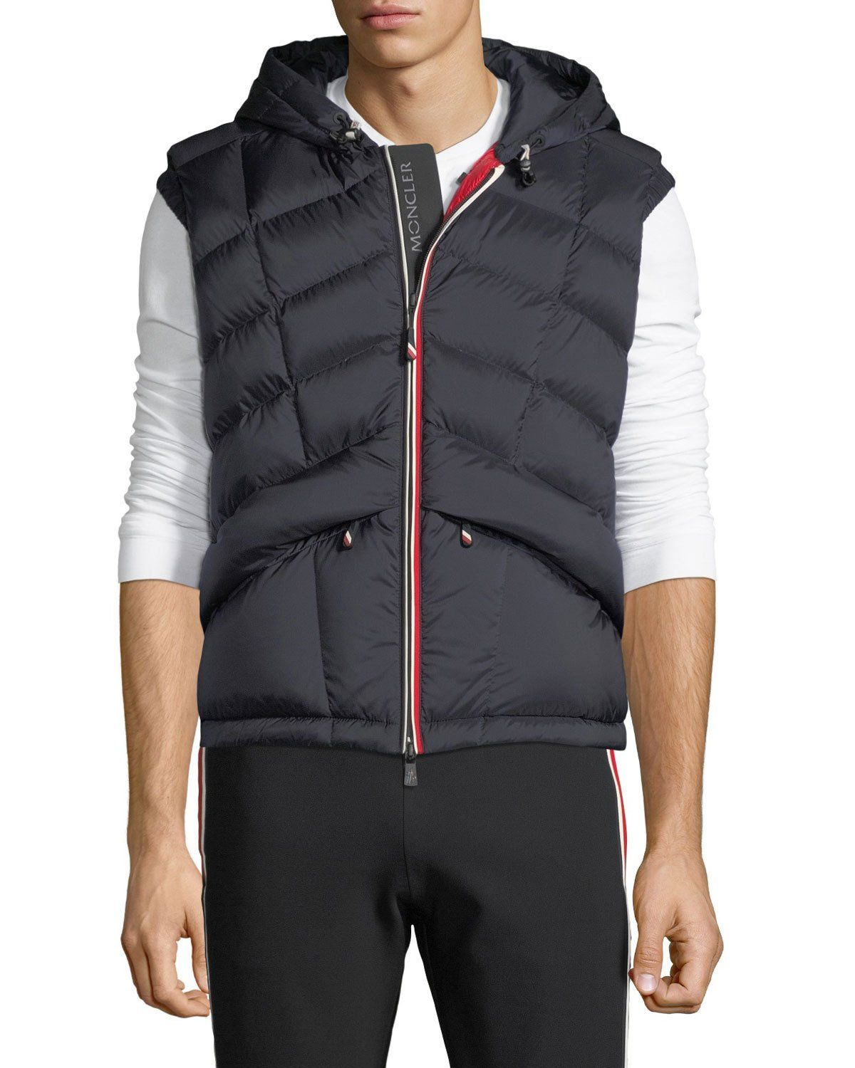 93566bdaa Moncler Men's Rossiniere Puffer Vest in 2019 | Products | Vest ...