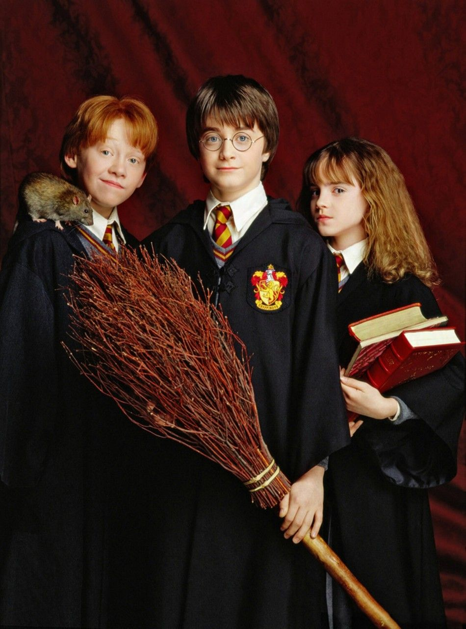 Harry Potter And The Sorcerer S Stone 2001 Wow That Broom Is A