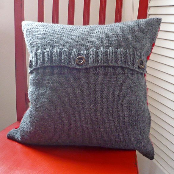 Pillow Cover Knitting Pinterest Best Cushion Cover Pattern Ideas