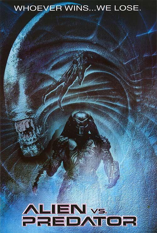 Alien Vs Predator 2004 In 2020 Alien Vs Predator Predator Movie Poster Predator