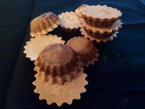 For sale Handmade 100% Soy Wax Candle Tarts Lot Of 10 Chocolate Peanut Butter