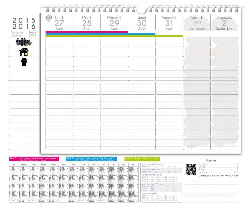 Quo Vadis Time Life Calendrier Family Planner Hebdo Agenda – Family Agenda