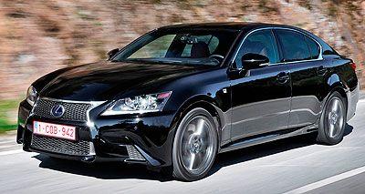 Lexus GS. Modelo 2012.
