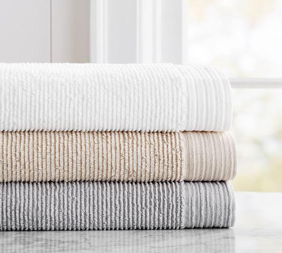 What Is A Bath Sheet Aerospin™ Ribbed Organic Bath Towel  Textiles  Pinterest  Towels