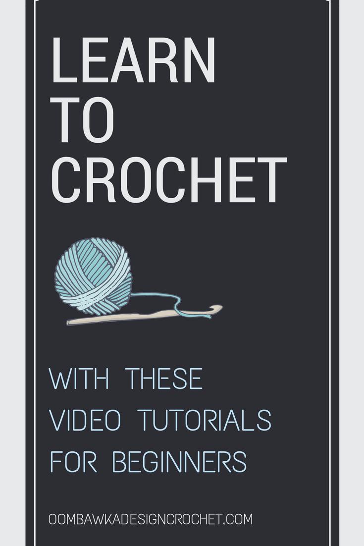 Beginner Crochet Stitch Video Series | Beginner crochet, Half double ...