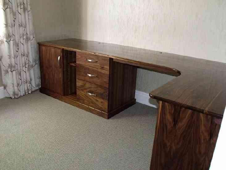 Walnut Corner Desk Corner Desk Desk Desk Decor