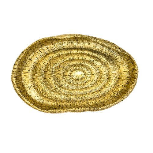 Resin Gold Tray