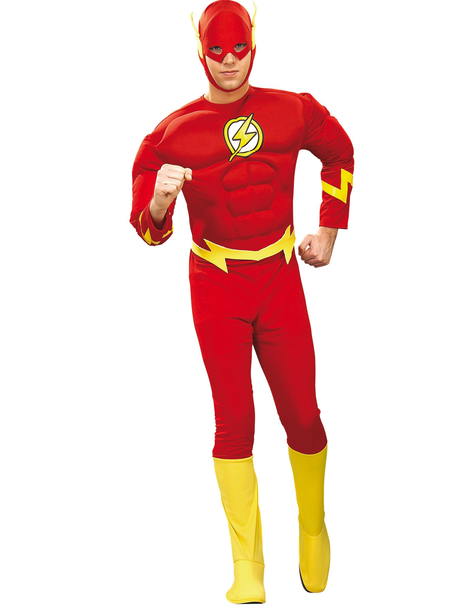 The flash superheld comic kostüm rot-gelb | Comic kostüm ...