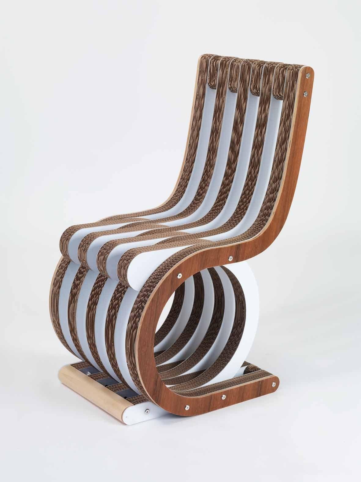 Cardboard rocking chair - Cardboard Chair