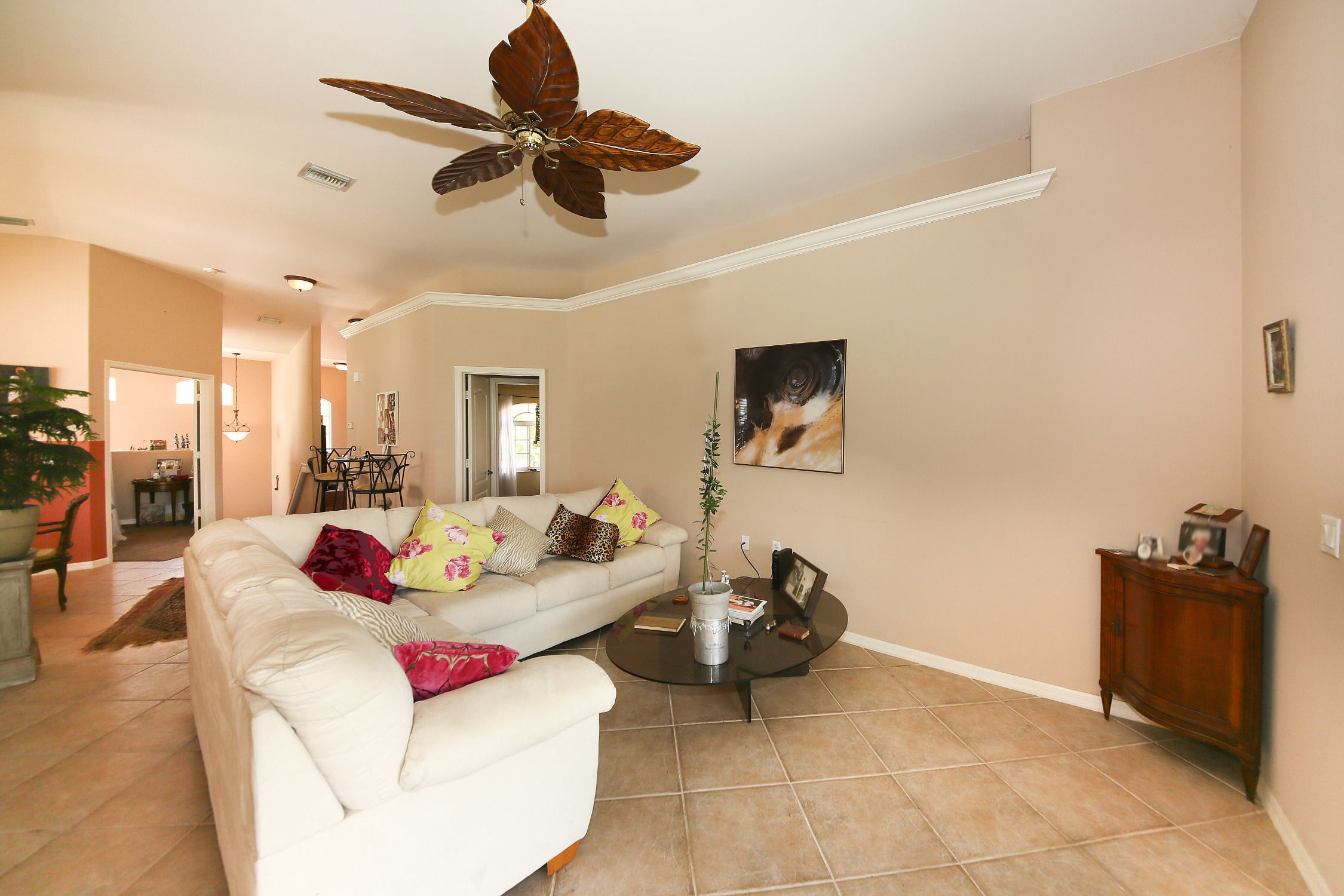 Living room area. | Room, Real estate agent, Workout rooms