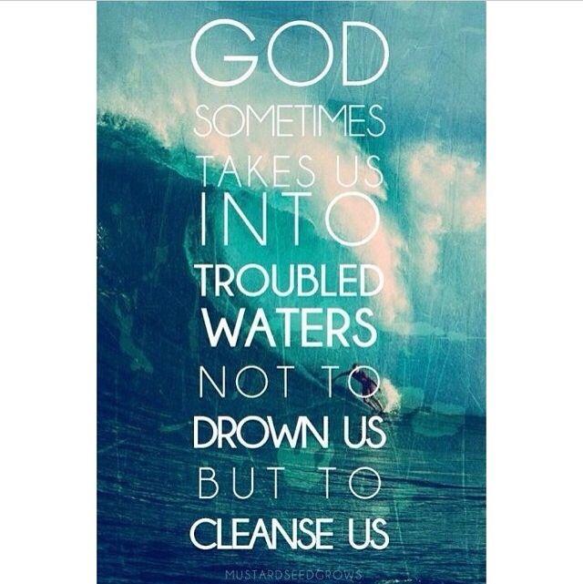 Trust in Him.