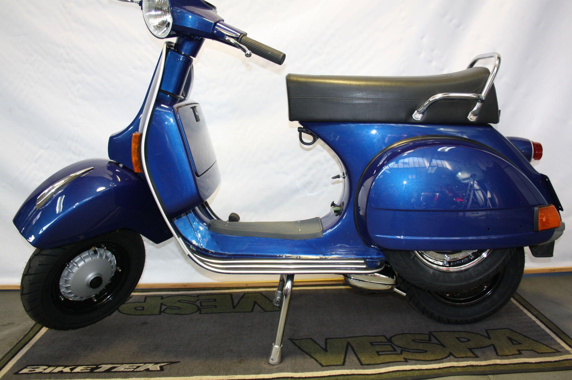 Vespa Px 80 Optisch Getunt Vespa Motorroller Fahrzeuge