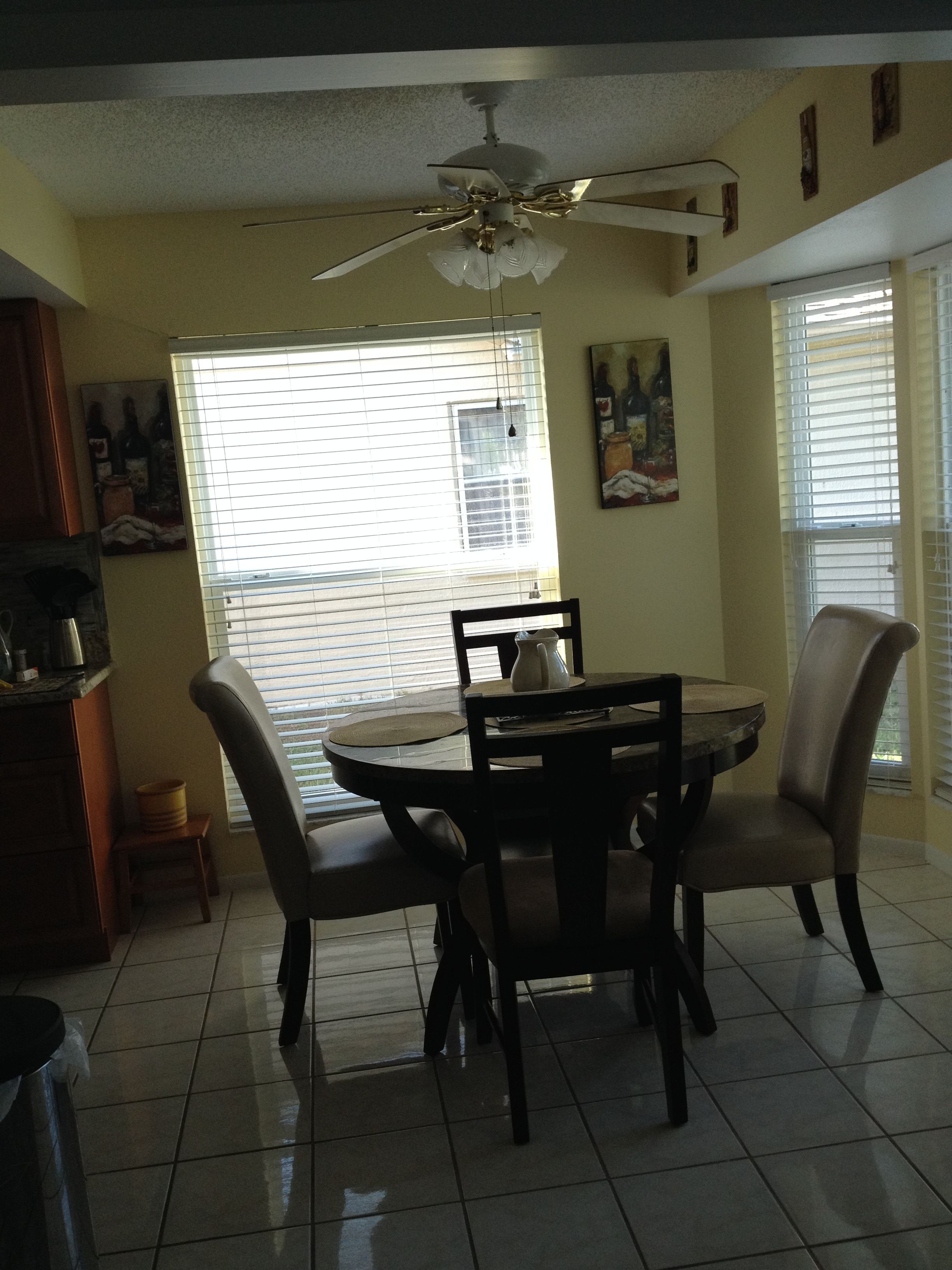 dining spot. | Home Decorating Ideas as we Fix our Fixer-upper ...