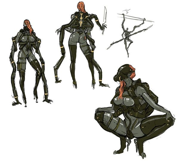 Pin By Gabriel Perez On Concept Art Character Design