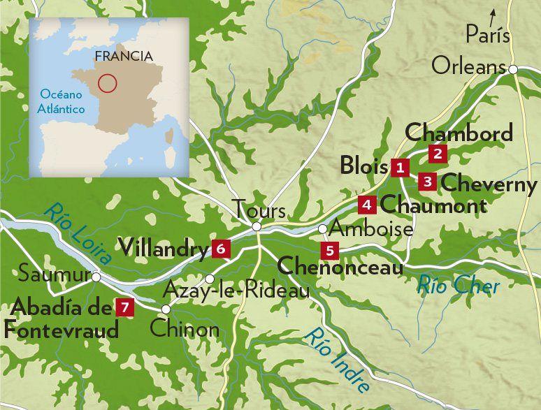 Valle Del Loira Valle Del Loira Castillos Del Loira Castillos Francia