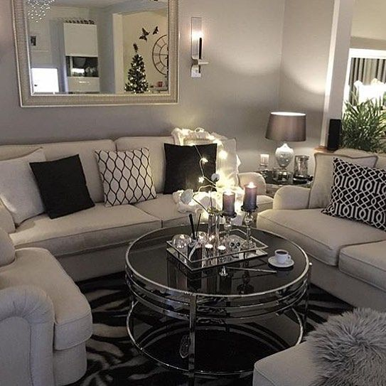 Pin by Dana B Forbes on Luxury interior Pinterest Living rooms - idee deco salon appartement