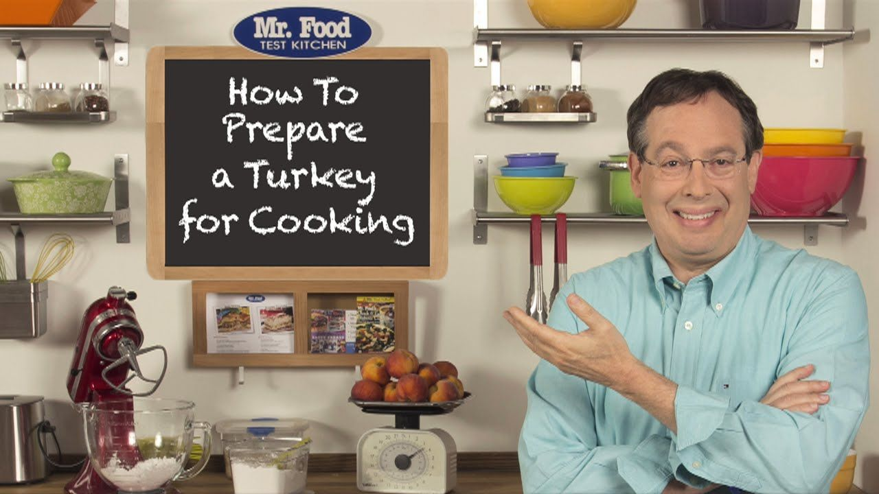 How To Prepare a Turkey for Cooking