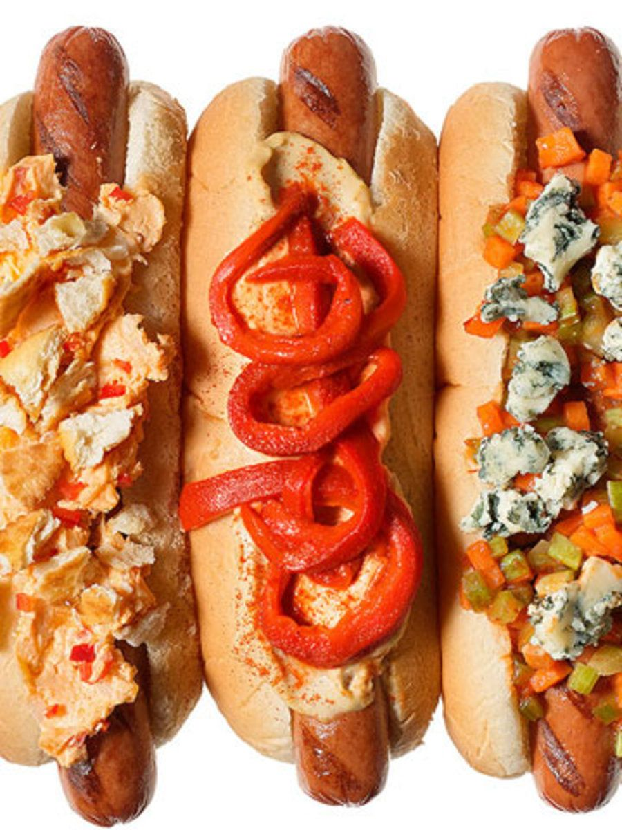 10 Twists On Hot Dogs Hot Dogs Grilled Salmon Recipes