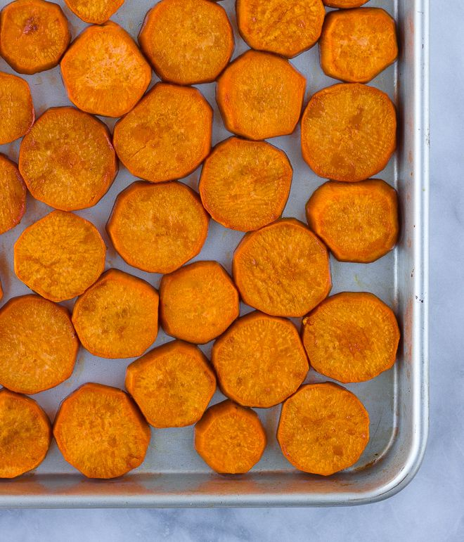 Easy roasted sweet potato medallions paleo recipe easy easy roasted sweet potato medallions paleo ccuart Gallery