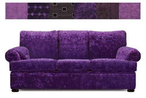 The Classic Purple Sofa Purple Sofa Purple Furniture Purple Room Decor