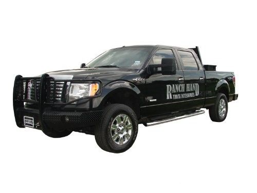 Ranch Hand Fsf09hbl1 Summit Front Bumper For Ford F150 Black F150 Ford F150 Ford