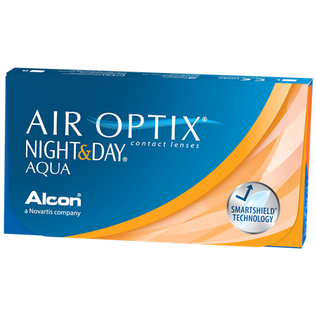 AIR OPTIX NIGHT & DAY AQUA Contact Lenses AIR OPTIX NIGHT