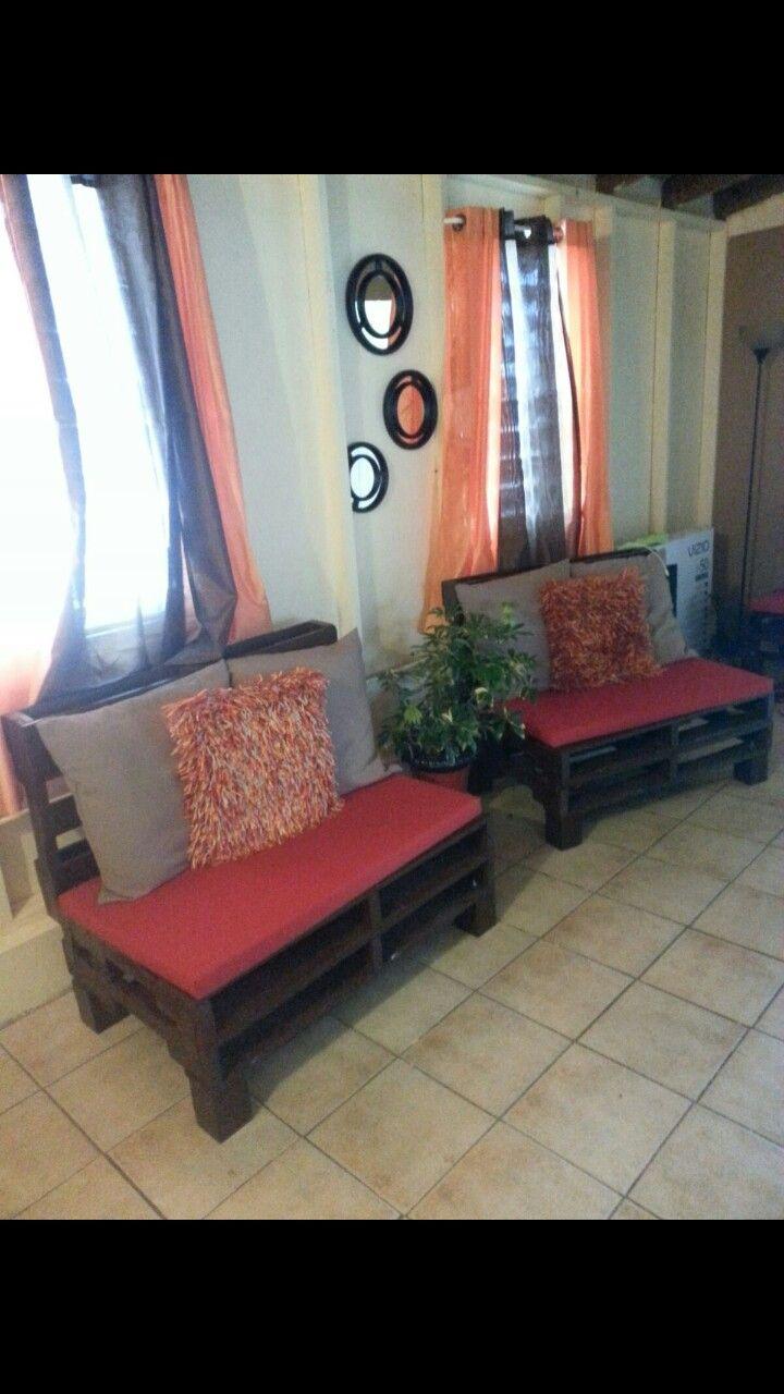 Palletes furniture muebles hechos de paletas de madera - Muebles en palets de madera ...