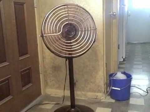 Homemade Air Conditioner simple DIY AC uses 45 Watts - can be solar powe...