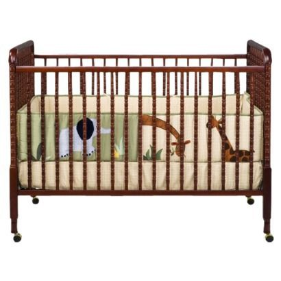 Davinci Jenny Lind Stationary Crib Cherry Converts To A Toddler Bed Baby Cribs Cribs Convertible Crib