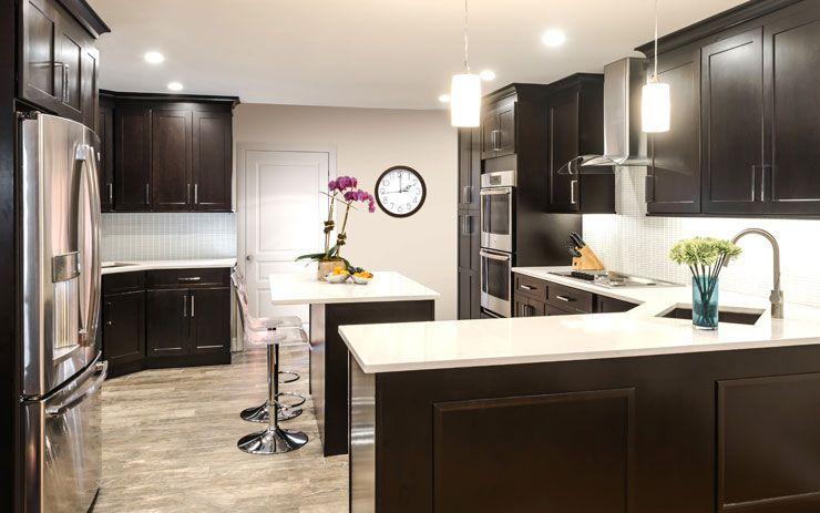 Galaxy - Espresso, Cabinets,home remodelling, Brooklyn ...