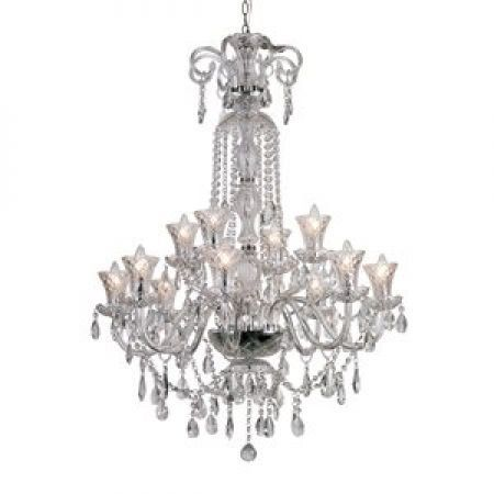 Trans Globe Trans Globe HX-12 12 Light Crystal Chandelier