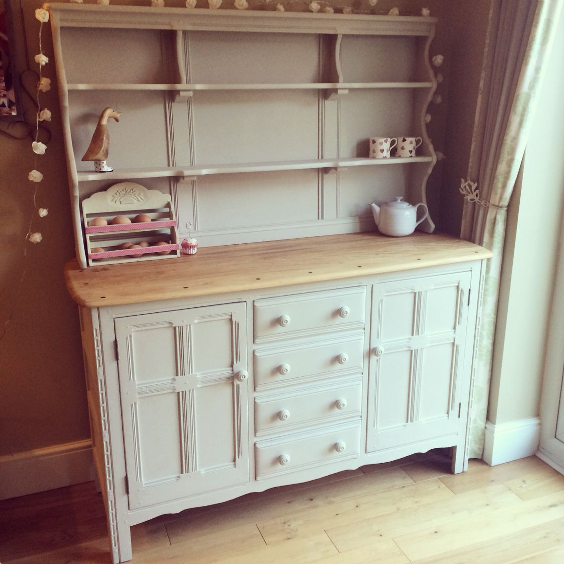 Ercol Dresser Up Cycled Using Autentico Chalk Paint Almond